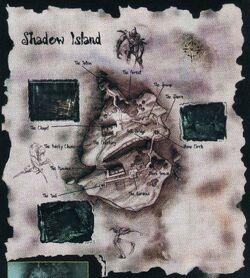 Mapa Shadow Island
