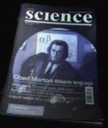Obed in science magazine