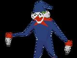 Pupazzo clown