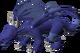 Brutal blue dragon