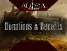 Donations and benefits