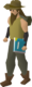 Crazy archaeologist