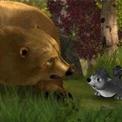 Stinky vs. Bear