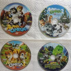DVDs for the first four films in the franchise