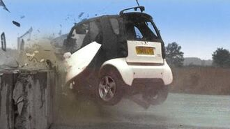 Smart Car Crash Test TBT- Fifth Gear