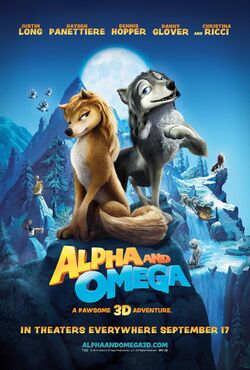 Alpha and Omega poster