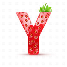 Letter-y-in-strawberry-style-with-green-leaves-Download-Royalty-free-Vector-File-EPS-71350