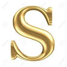 23204923-golden-matt-letter-s-jewellery-font-collection