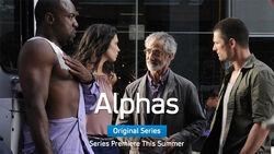 Alphas cast