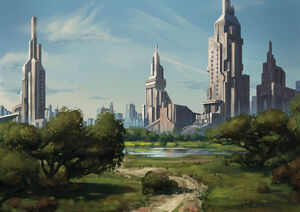 City garden by dandandantheman-d7htxco
