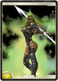 Light Spearwoman