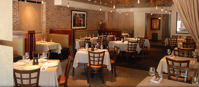 American restaurant dining room