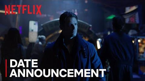Altered Carbon Date Announcement HD Netflix
