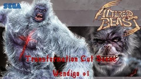 Project Altered Beast (PS2) Transformation Cut Scene - Wendigo 1