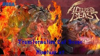 Project Altered Beast (PS2) Transformation Cut Scene - Minotaur 7