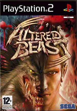 PS2 Altered Beast Cover