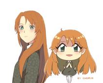 VERA and Chibi-Vera