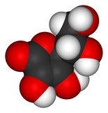 Витамин С графическое изображение молекулы