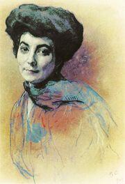 Helena Roerich (V. Serov)