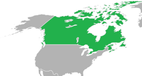 Kingdom of Canada at its greatest extent