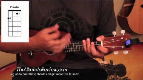 Video Ukulele Chords To Somewhere Over The Rainbow And Hey Soul