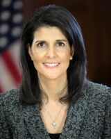 Official Photo of SC Governor Nikki Haley (cropped)