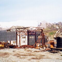 A Tadzhik border post in the Wakkan Mountains during 2055.