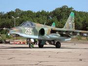 Bulgarian Su-25K Frogfoot