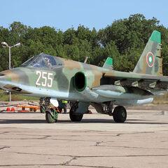 Bulgarian Su-25K