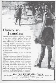 Jamaica tourism flyer