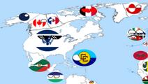 Afo north america map