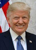 Donald Trump official portrait (cropped)