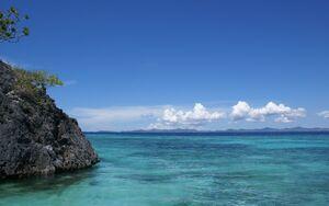 Blue sky ocean (4)