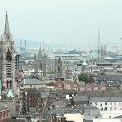 Dublin skyline in 3789.