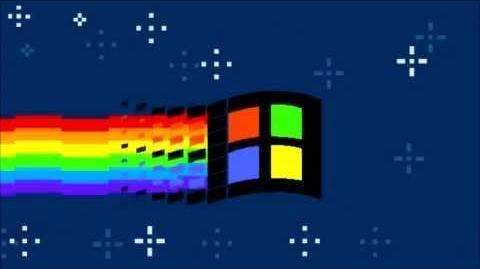 Nyan Windows 98