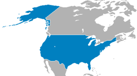 The United States at its greatest extent