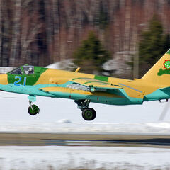 Su-25 Turkmenistan AF clash with Russian forces as they close in to Ashgabat in the May of 2045.