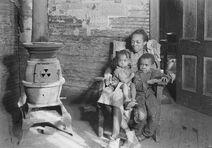 Scott's Run, West Virginia. Johnson family - father unemployed. - NARA - 518380