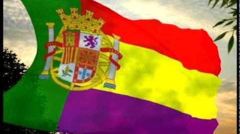 Hispania Iberia (*Fictitious state Estado ficticio) (Republican flag Bandera republicana)