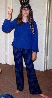 Hippie girl 1969