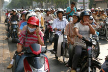 Ho Chi Minh City, Vietnam, Life on the streets
