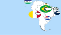 Afo south america map