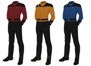 Class c uniform, captain's alternate