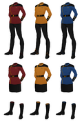 Dress uniform v2 female