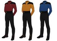 Class b uniform wraparound
