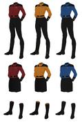 Class c uniform female captain's alternate
