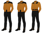 Chief engineer's tunic
