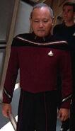 Starfleet flag officer uniform, 2365