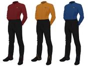 Class a uniform undershirt male