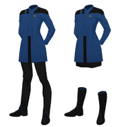 Medical officer overcoat